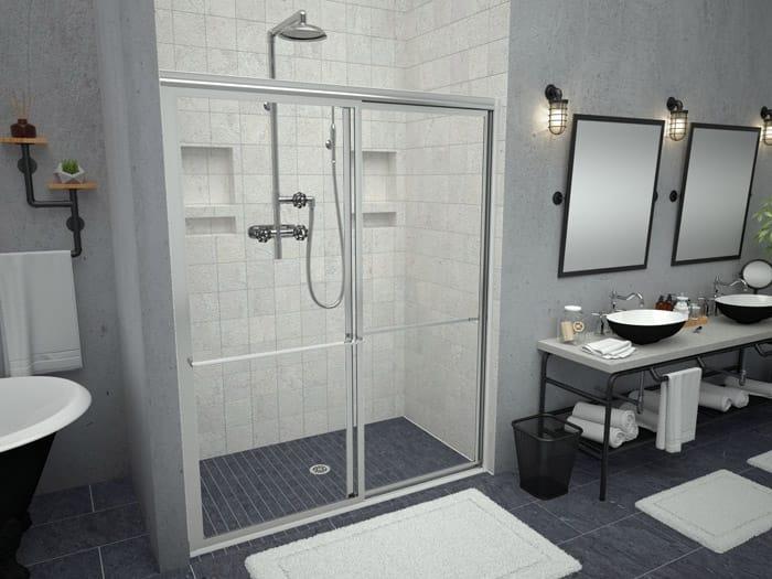 Redi Free Barrier Free Walk In Shower Models