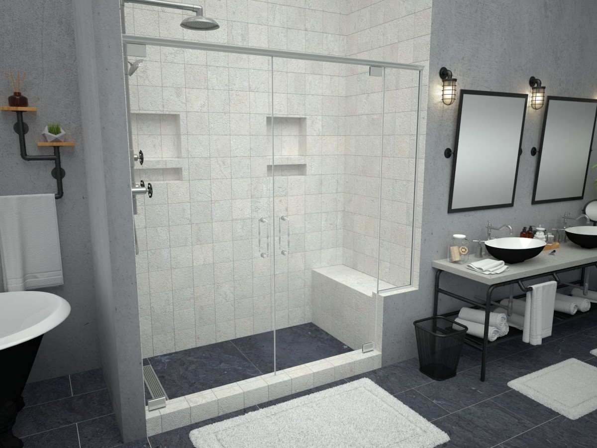 Shower Bench Seats | Built In Corner Seating | Tile Redi