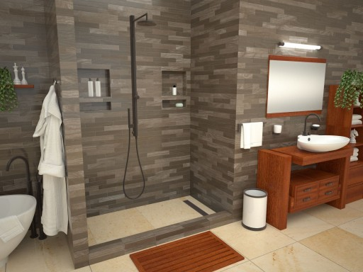 Bathtub Replacement™ with Redi Trench® Shower Pans