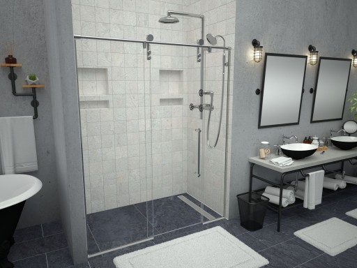 Redi Free® with Redi Trench® Shower Pans