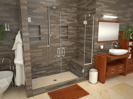 Base'N Bench® with Redi Base® Shower Pans