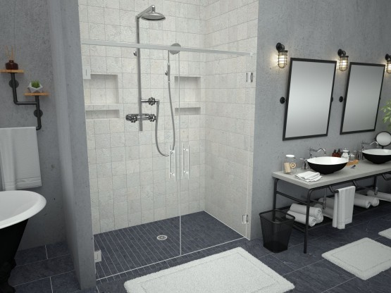 Redi Free® with Redi Base® Shower Pans