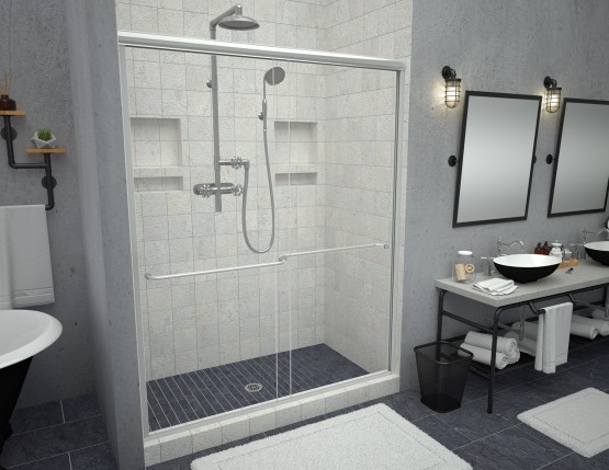 Redi Slide™ Shower Doors