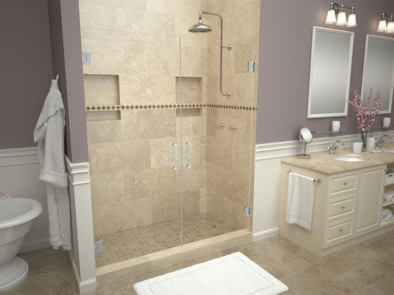 Bathtub Replacement™ with Redi Base® Shower Pans