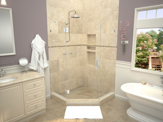 Redi Neo® with Redi Trench® Shower Pans