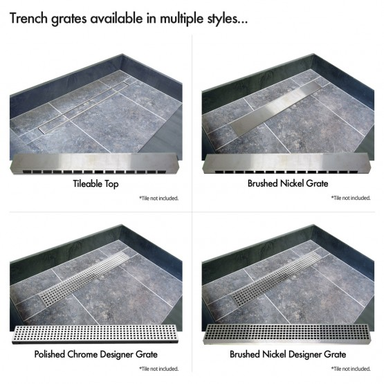 Charmant Redi Trench® Shower Pans