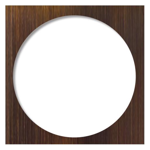 Redi Drain® Oil Rubbed Bronze Drain Plate Trim, 5¾″ square