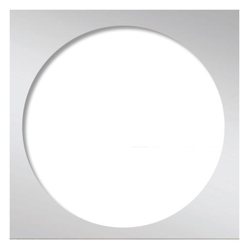 Redi Drain® Polished Chrome Drain Plate Trim, 5¾″ square