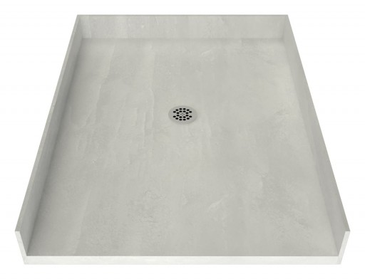 Redi Free® Barrier Free Shower Pan With Center Drain, 48″D x 37″W