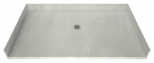 Redi Free® Barrier Free Shower Pan With Center Drain, 42″D x 63″W