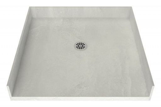 Redi Free® Barrier Free Shower Pan With Center Drain, 42″D x 42″W