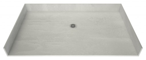 Redi Free® Barrier Free ADA Shower Pan With Center Drain, 36″D x 63″W