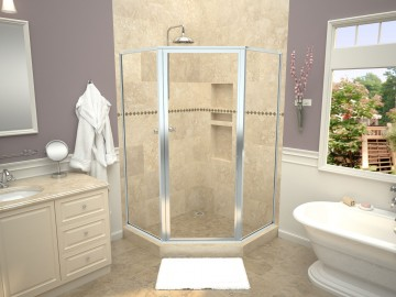 Redi Neo® With Redi Base® Shower Pans