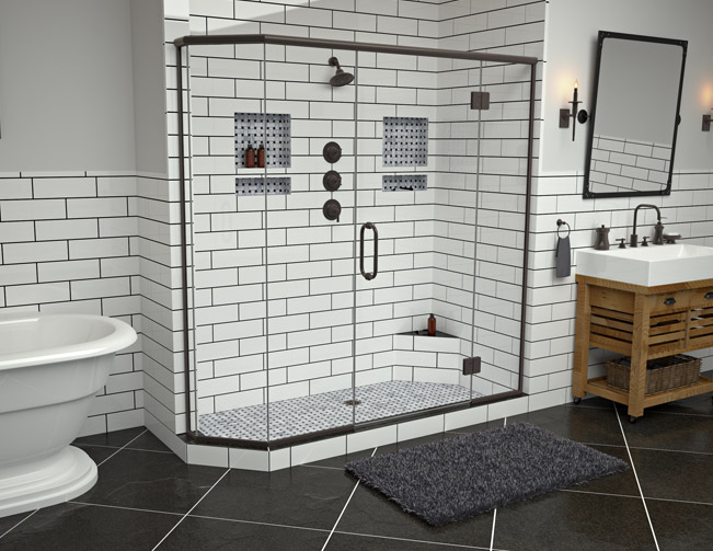 Shower Pans, Bases & Shelves   Tile Redi