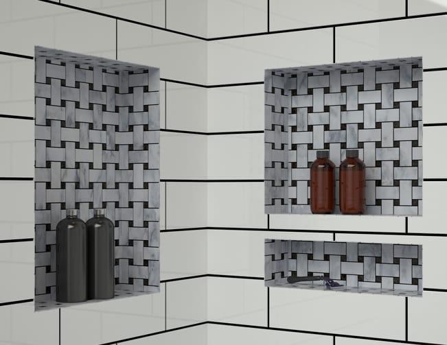 Redi Niche Shower Shelves